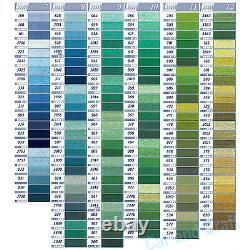 Ensemble Complet Complet, 515 Couleurs France DMC Broderie Floss Cross Stitch Solide