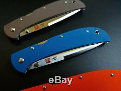 Ensemble Complet De Couleur G10 Al Mar Aigle Heavy Duty (hd) Talon Zdp-189 Couteaux