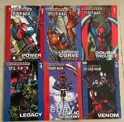 Ensemble Complet Oop Softcover Sc Tpb Ultimate Spiderman Vol 1-22 Htf Rare