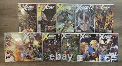 Ensemble De Couleurs Complet X-men. Tous Les X-men Noir/bleu/or/rouge. 93 Comics Total