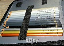 Faber-castell Polychromos Crayons De Couleur 120 Cas Ensemble Complet En Cuir Inutilisé