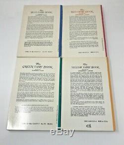 Fée Andrew Lang Couleur Livres (complete 12 Volume Broché Set)