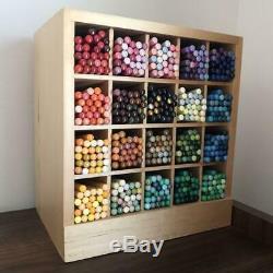 Felissimo Crayons De Couleur 500 W Excellente Série Complète D'occasion Case En Bois