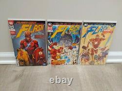 Flash 1-88 750-762 Ensemble Complet De Terrains De Run Williamson De Renaissance 6 DC 3 Annuals Vol 5