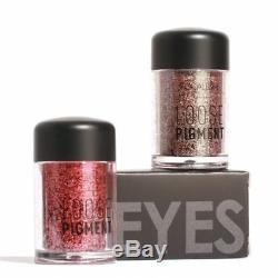 Focallure 18 Couleurs De Pigment En Vrac Imperméable Longue Durée Shimmer Glitter 12
