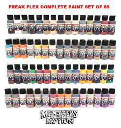 Freak Flex 60 Deluxe Paint Set Complet De 60 Couleurs 12bad60cs