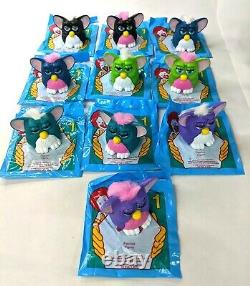 Furby Complete Set All 80 Colors Variations 1998 Nos Mcdonalds Happy Meal Jouet
