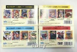 Game Gear Micro 4 Color Complete Set + Big Window Micro Nouveau 30ème Sega Japon