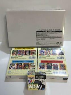 Game Gear Micro 4 Color Complete Set + Big Window Micro Sega 30th Annivesary Jp