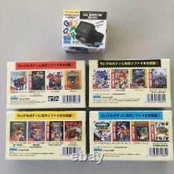 Game Gear Micro 4 Couleurs Console Complète Jeu + Grande Fenêtre Micro 30 Sega