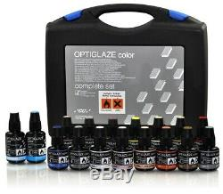 Gc Optiglaze Couleur Set Complet Photopolymérisés Revêtement Pour Composite Et Acrylique