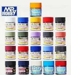 Gsi Creos Mr. Hobby Ug Gundam Couleur Laque Ug01-ug21 Complete Set 21 Bouteilles