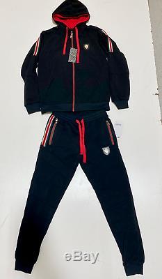 Gucci Hommes Survêtement Haut Et En Bas Marque Nouveau Complete Set Matching