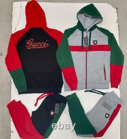 Gucci Sweatsuit Tout Nouveau Haut Et Bas Complet Set Free Shipping Matching Set