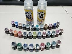 Gw Citadel Color Paint Complete Set Contraste Avec Apprêts New Spray Livraison Gratuite