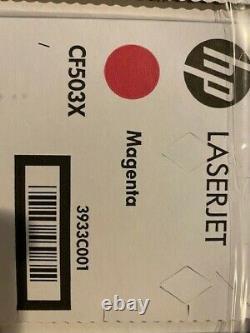 HP 202x Ensemble Complet Cf500x Cf501x Cf502x Cf503x Cartouche De Toner Noir Et Couleur