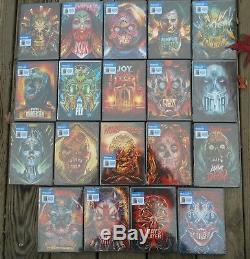 Horreur Lot (orlando Arocena Illustrations W Livres À Colorier Jeu Complet 19 Dvds) Nouveau