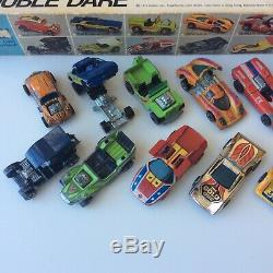 Hot Wheels Redline Flying Colors Double Dare Yr 1 Set 24 Box Car Insert Complet
