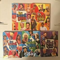 In Living Color La Série Complète Assaisonne 1, 2, 3, 4, 5 DVD Set Livraison Gratuite