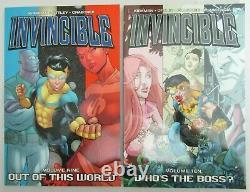 Invincible Tpb Lot Run #1 #25 Complete Set Kirkman Image 2021 Amazon Series