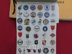 Jan # 1 Insignia Joint Army Navy Et Uniformes Set 1943 Complete Illust Couleur