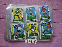 Jeu Complet Anglo Couleurs De L'équipe Nationale (soccer Football) Super Condition