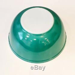 Jeu Complet De 4 Vintage Pyrex Nesting Coupelles Classique Couleurs Rares