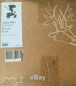 Joolz Geo 2 Complete Set Poussette Tout-terrain Avec Bassinet Blue Parrot En Couleur
