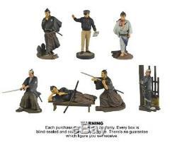 Kaiyodo Akira Kurosawa Yojimbo 14 Complete Set Figure Couleur Et Mono Utilisé