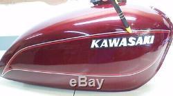 Kawasaki Kz1000 Ltd Oem Carosserie Set Complet Cardinal D'origine Couleur Rouge 1978