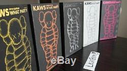 Kaws Quelle Party Figure Complete Set Les 5 Couleurs