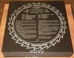 Kiss Japonais Originals 1974-79 Colored Vinyl Lp Box Set Complete Japan