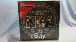 Kiss Originals Japan Very Rare! Tout Sur Le Vinyle De Couleur! Set Complet Avec Inserts