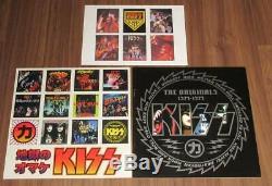 Kiss The Originals 1974-1979 11 Couleur Lp Box Complete Set Analogique