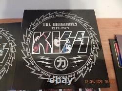 Kiss The Originals 1974-1979 / Box Complete 11 Lp Set Colored Excellent Cond