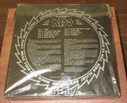 Kiss The Originals 1974-1979 Japan 11 Color Lp Box Ensemble Complet Avec Tous Les Inserts