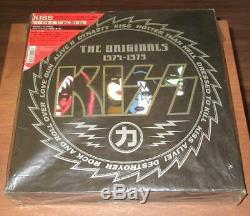 Kiss The Originals 1974-1979 Japan 11 Color Lp Box Ensemble Complet D'inserts