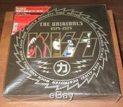 Kiss The Originals 1974-1979 Japan 11 Couleur Lp Box Complete Set F / S Analogiques