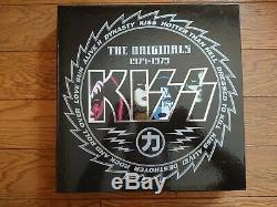 Kiss The Originals 1974-1979 Japan 11 Couleur Lp Box Ensemble Complet Avec Toutes Les Insertions