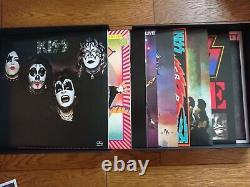 Kiss The Originals 1974-1979 Japon 11 Color Lp Box Set Complet Avec Stickered Obi