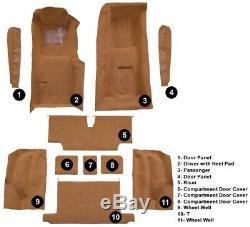 Kit Complet De Moquette De Remplacement Moulé Pour Tas
