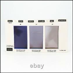 Kodak R-25 Color Print Viewing Kit Ensemble Complet De 6 Cartes Avec Instructions Vgc