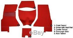 L'ensemble De Tapis De Rechange Complet Daytona Convient À La Corvette C1. Choisir La Couleur