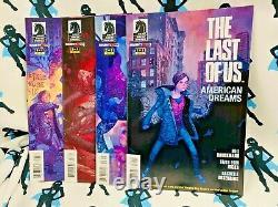 Le Dernier D'entre Nous American Dreams #1-4 Série Complète Set Vhtf Hot Rare