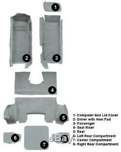 Le Kit Complet De Tapis De Rechange Pour Tapis De Coupe Avec Coussinet Est Compatible Avec La Corvette C5
