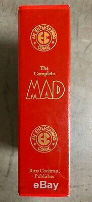 Le Mad Complète Ec Library Box Set Avec Slipcase Russ Cochran 1986 Version Couleur
