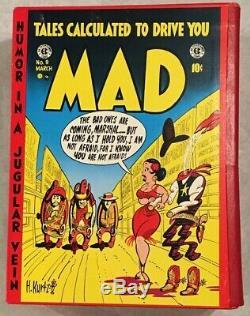 Le Mad Complète Ec Library Box Set W'slipcase Russ Cochran 1987 Version Couleur