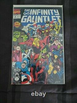 Le Pantalon Infinity #1-6 Ensemble Complet Marvel Comics 1991 Vf/nm