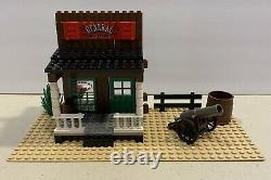 Lego 6765 Western Cowboys Gold City Junction 1996 Complete 1 Color Sub