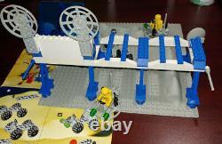 Lego 6930 Station D'approvisionnement Spatial Vintage Complete 1 Pièce De Couleur Manquante / Remplacée